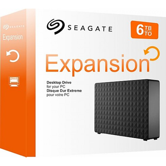 HD Externo 6TB Seagate Expansion 3.5""