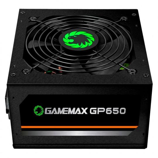 Fonte Gamemax GP650, 650W, 80 Plus Bronze - GP650