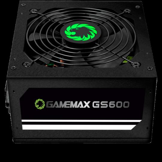 Fonte Gamemax 600w GS600 80PLUS WHITE