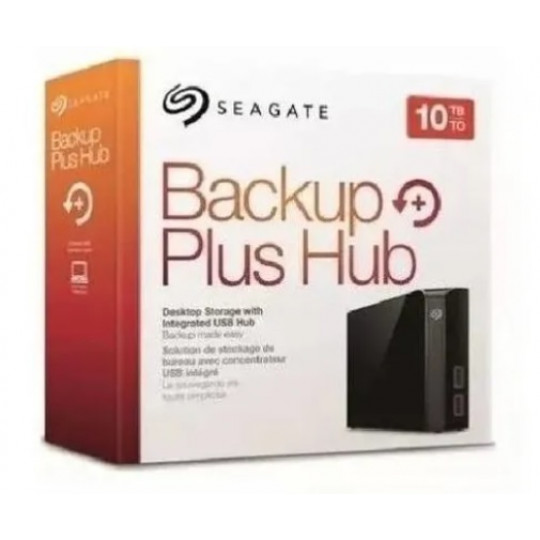 HD Externo 10TB Seagate BACKUP PLUS 3.5""