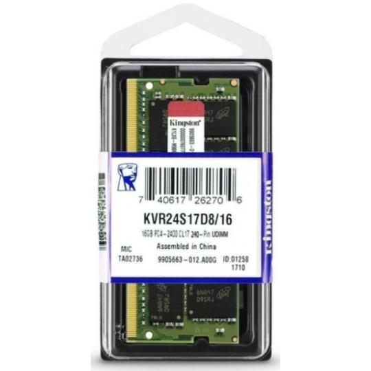 Memória Notebook Kingston DDR4 16Gb 2400Mhz