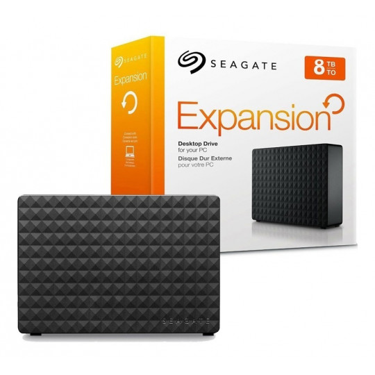 HD Externo 8TB Seagate Expansion 3.5""