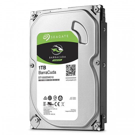 HD Sata III 1TB Seagate Barracuda