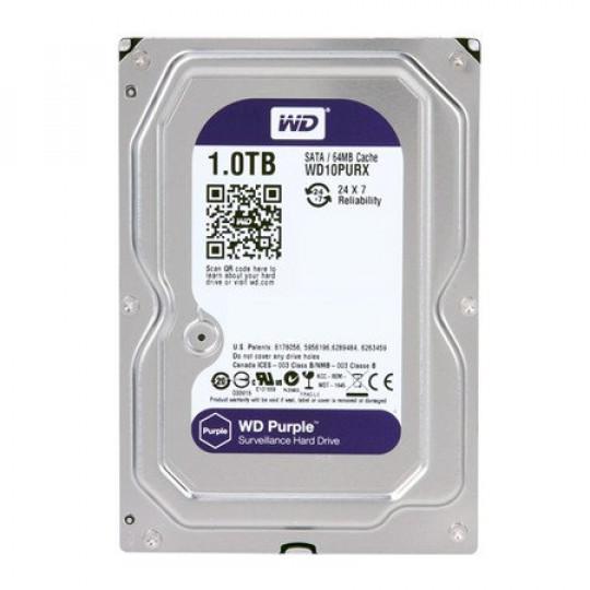 HD 1TB WD Purple Surveillance Sata III
