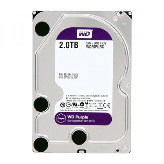 HD Sata III 2TB WD Purple Surveillance