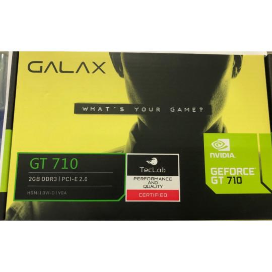 Placa de Vídeo Galax GT 710 2GB DDR3