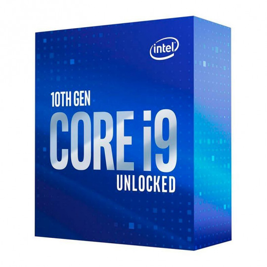 Processador Intel Core i9-10900KF, Cache 20MB, 3.7GHz (5.3GHz Max Turbo), LGA 1200
