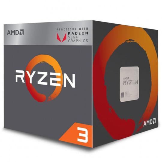 Processador AMD Ryzen 3 3200G, Cooler Wraith Stealth, Cache 6MB, 3.5GHz (3.7GHz Max Turbo), AM4