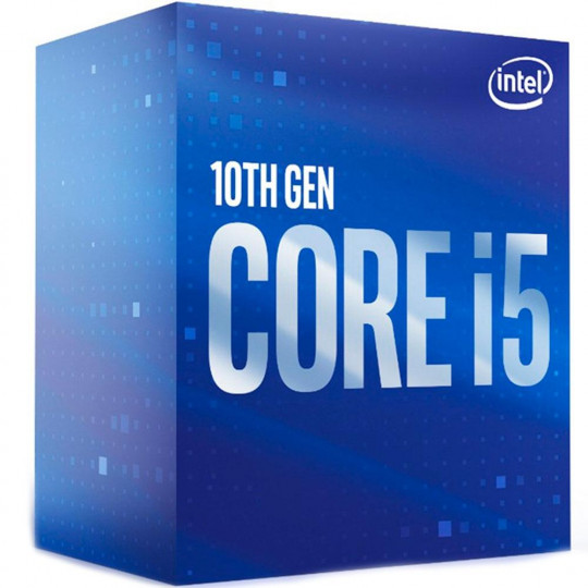 PROCESSADOR INTEL CORE I5 10400F 2.9Hz, (4.3GHz Turbo), 6-Cores, 12-Threads, LGA 1200