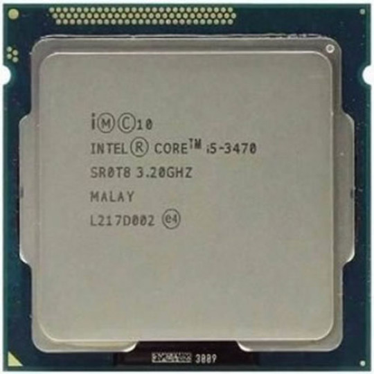 PROCESSADOR INTEL CORE I5 3470 3.1GHz, (3.5GHz Turbo), 4-Cores, 4-Threads, LGA 1155