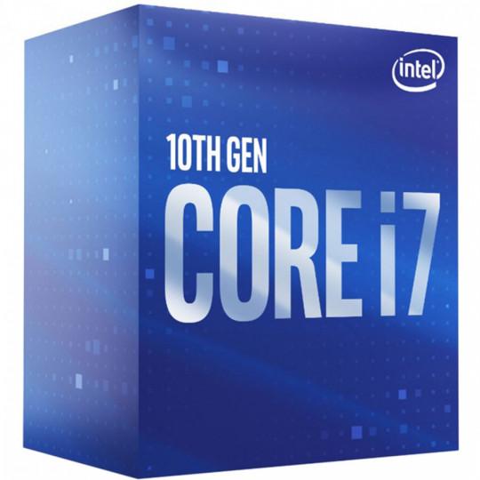 PROCESSADOR INTEL CORE I7 10700K 3.8GHz, (5.1GHz Turbo), 8-Cores, 16-Threads, LGA 1200