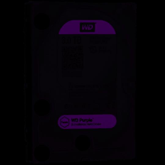 HD Sata III 3TB WD Purple Surveillance